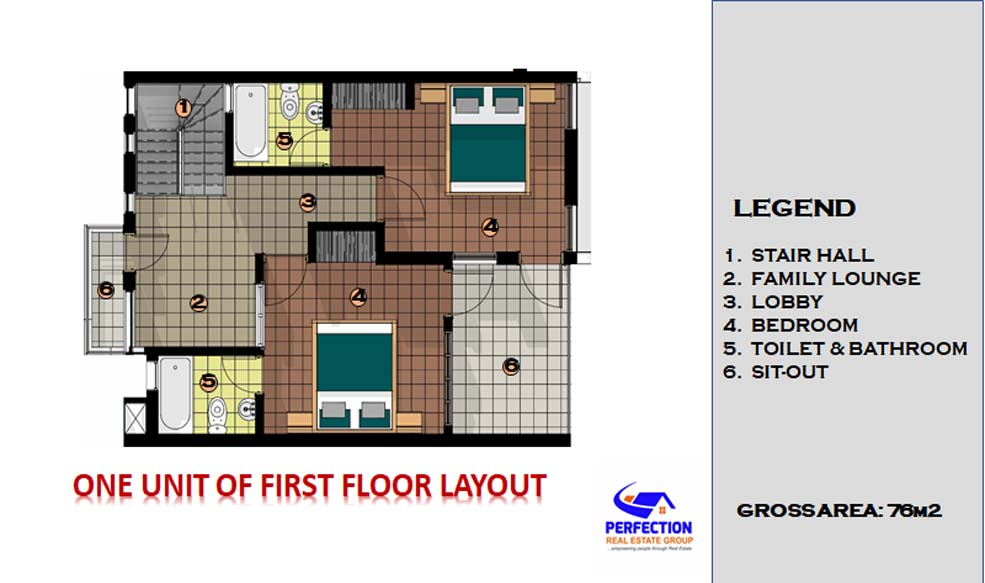 Three Bedroom Apartment 3bed8