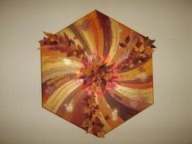 Autumn - mixed media canvas