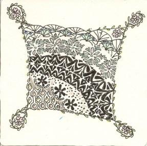 Judy Gudeman's second tile
