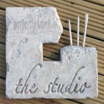 Carved Studio Stone