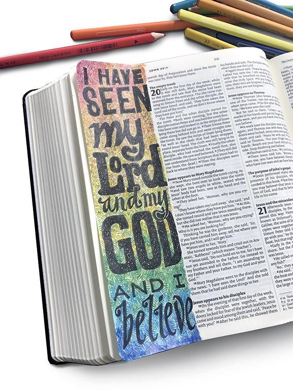 bible journaling John 20