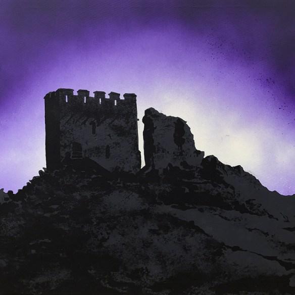 Dolwyddelan Castle painting
