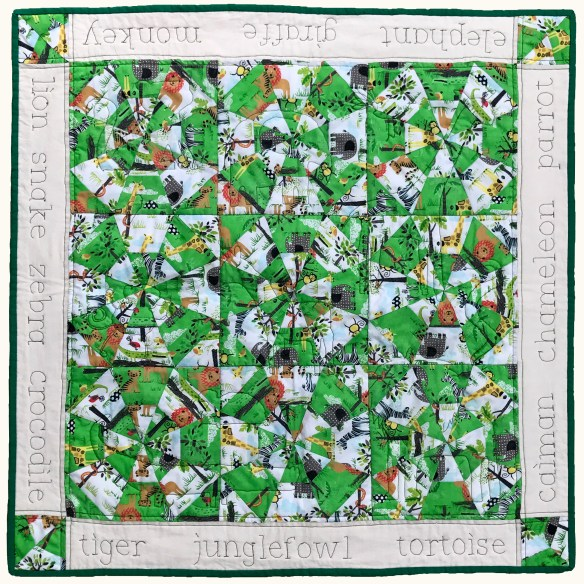 jungle friends quilt