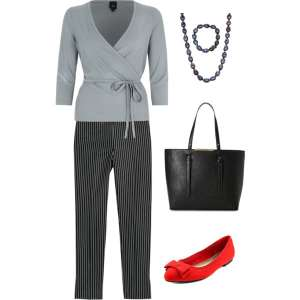 Very Casual Slacks outfit - Don't Wear Jeans to a Job Interview #career #careeradvice #jobinterview #fashion