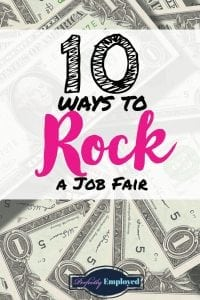 10 Ways to Rock a Job Fair