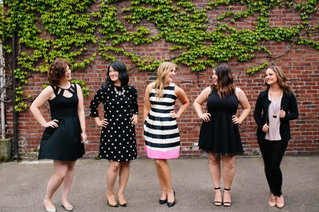 The Perfectly Posh Events Team | Seattle Wedding Planner | Photo by Kelly Lemon Photography