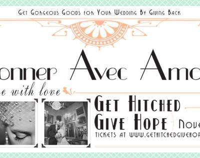 French Art Deco Styled Shoot for Get Hitched Give Hope