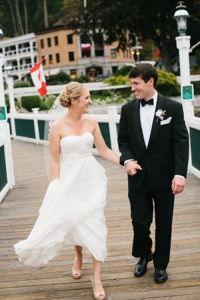 Romantic Roche Harbor Wedding