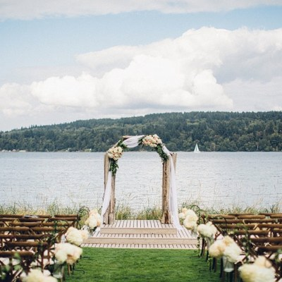 Elegant Waterfront Wedding at The Edgewater House