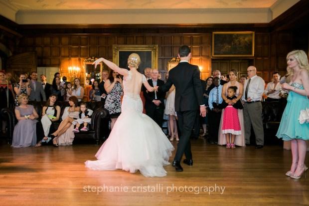 Thornewood Castle Wedding in Seattle | Bride & groom ballroom dance | Perfectly Posh Events, Seattle Wedding Planner | Stephanie Cristalli Photography