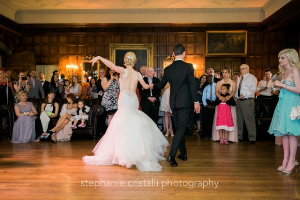 Thornewood Castle Wedding in Seattle | Bride & groom ballroom dance | Perfectly Posh Events, Seattle Wedding Planner | Stephanie Cristalli Photography