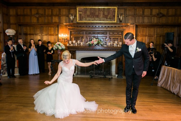 Thornewood Castle Wedding in Seattle | Seattle bride and groom ballroom dance | Perfectly Posh Events, Seattle Wedding Planner | Stephanie Cristalli Photography