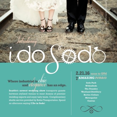 Seattle wedding shows   Sodo wedding show in Seattle   Perfectly Posh Events