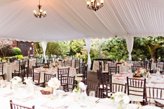 Robinswood House Wedding in Bellevue   Outdoor garden wedding with white tented reception  Perfectly Posh Events, Seattle Wedding Planner   Courtney Bowlden Photography