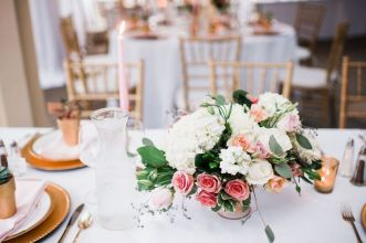 Glen Acres Golf Club   Seattle   Seattle Wedding Planner   Perfectly Posh Events   Barrie Anne Photography   Butter and Bloom   Floral centerpiece
