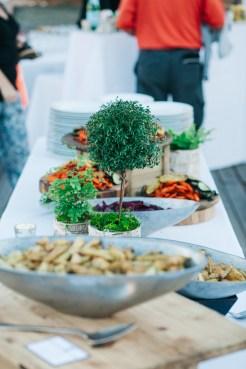 Center for Wooden Boats wedding in Seattle | Ravishing Radish reception dinner in Seattle | Perfectly Posh Events, Seattle Wedding Planning | Kathryn Moran Photography | Ravishing Radish Catering