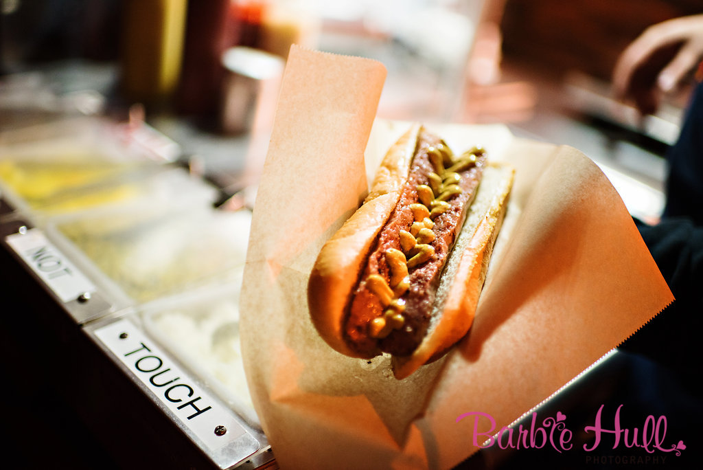 Choosing the Right Dinner Service | Food Truck Example- Hot Dog Truck | Perfectly Posh Events | Barbie Hull Photography