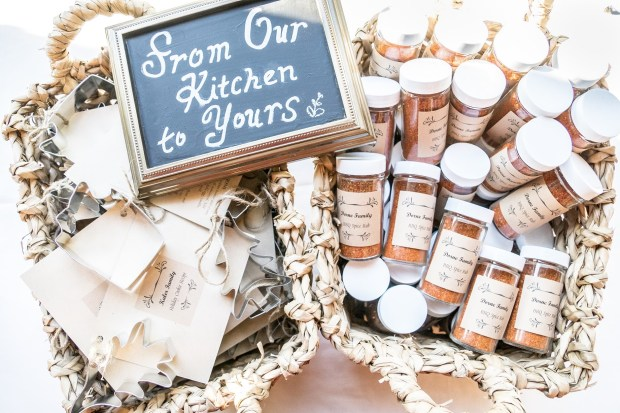 Secret family recipes for wedding wedding favors | Meadowbrook Farm Wedding, Snoqualmie, WA | Perfectly Posh Events, Seattle Wedding Planner | Sasha Reiko Photography | Jesse + Wes Wedding // © Sasha Reiko Photography