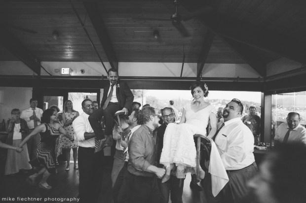 Hotel Ballard Wedding in Seattle, WA | Hora dance to Hava Nagila at wedding | Perfectly Posh Events, Seattle Wedding Planner | Mike Fiechtner Photography