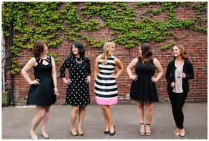 Perfectly Posh Events, wedding planner team in Seattle + Portland | Photo by Kelly Lemon Photography