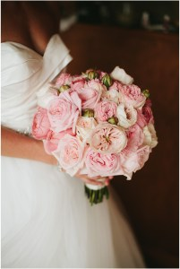 Close up of bride in white tulle ballgown holding a blush pink floral bouquet, Seattle wedding, Perfectly Posh Events wedding planning and design, Seattle and Portland Wedding Planner, Photo by Lucid Captures Photography