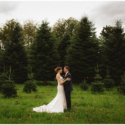 Rustic Pacific Northwest Wedding