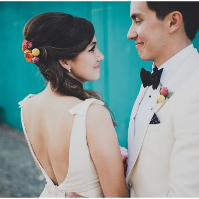 Mid-Century Modern Wedding at The Foundry