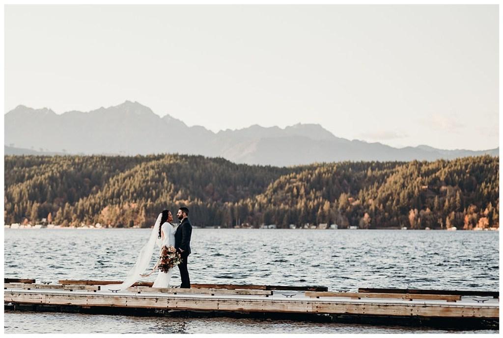 Pacific Northwest destination wedding at Alderbrook Resort & Spa, WA.