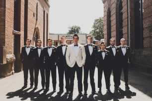 The Foundry by Herban Feast wedding in Seattle | Mid-century modern groomsmen with Mad Men theme | Perfectly Posh Events | Carina Skrobecki Photography
