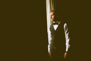 Sodo Park wedding in Seattle | Groom getting ready shot | Perfectly Posh Events, Seattle Wedding Planner | Andria Lindquist Photography