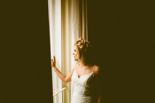 Sodo Park wedding in Seattle | Bride getting ready shot | Perfectly Posh Events, Seattle Wedding Planner | Andria Lindquist Photography