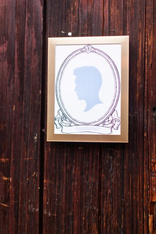 Robinswood House Wedding in Bellevue | Whimsical men's restroom sign | Perfectly Posh Events, Seattle Wedding Planner | Courtney Bowlden Photography