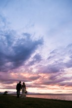 Seattle sunset wedding photo | Sodo Park Wedding in Seattle | Wedding Planning and Design by Seattle Wedding Planner Perfectly Posh Events | Kimberly Kay Photography | Floressence
