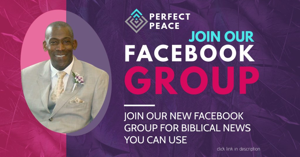 perfect peace facebook group