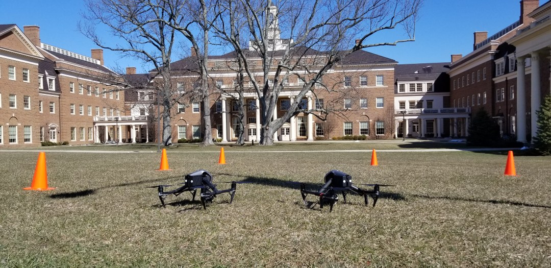 Drone Aerial Photography of Miami University School of Business