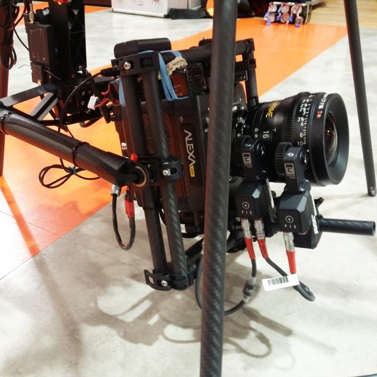 Drone Flying Arri Alexa Mini on Freefly Systems Alta/Movi M15 for Dicks Sporting Goods TV spot