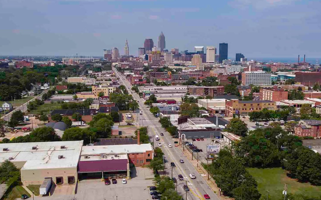 Perfect Perspectives Selected To Provide Drone Aerial Imaging of Historic Cleveland Structure
