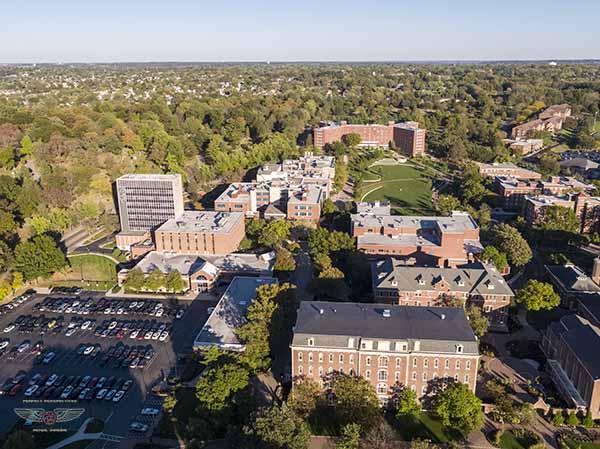 University of Dayton Drone Photograph 3