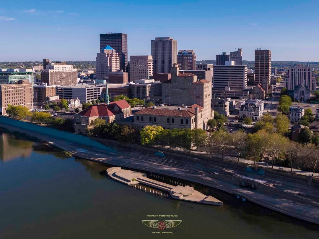 Dayton Drone Aerial Photo