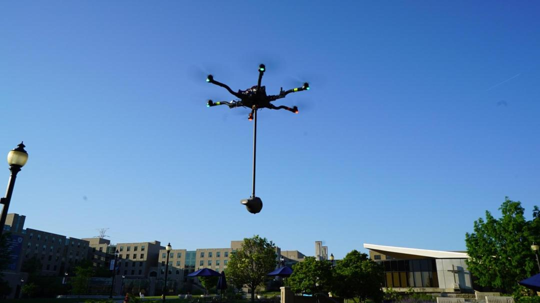 Cincinnati Aerial Drone Video Services at Xavier University