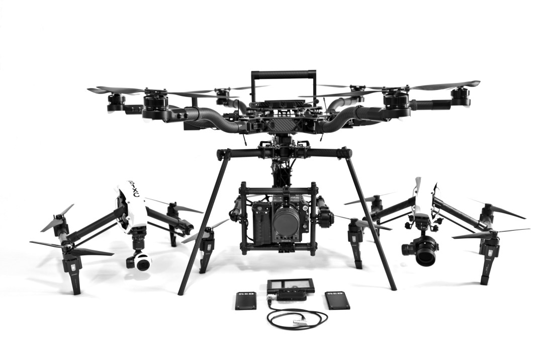 Freefly Systems Alta, DJI Inspire 2