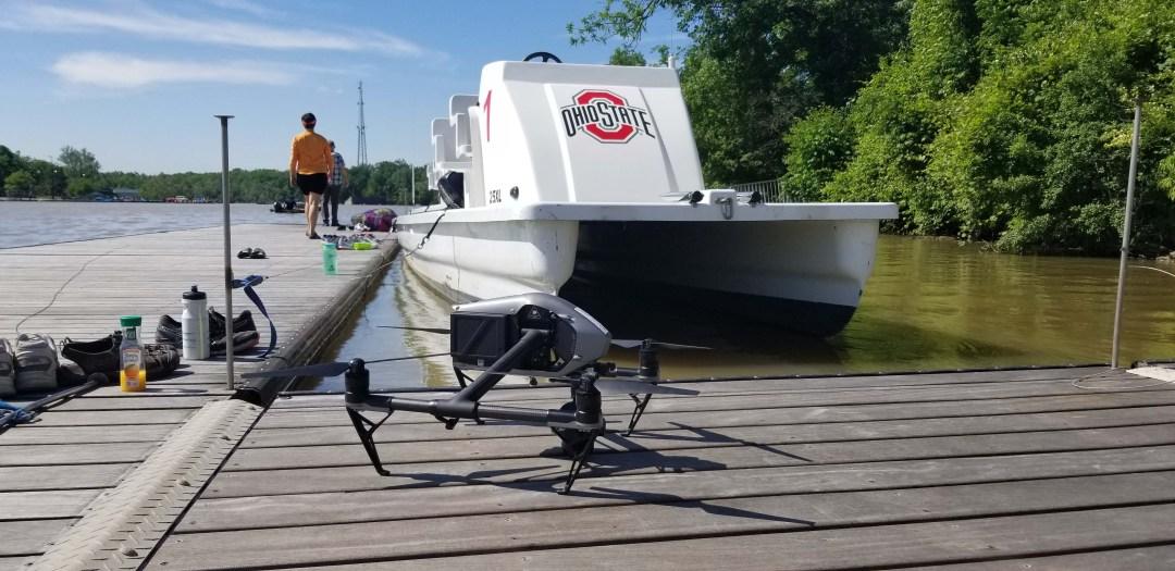 Aerial Drone Photography & Video Ohio State University Rowing - Columbus, Ohio