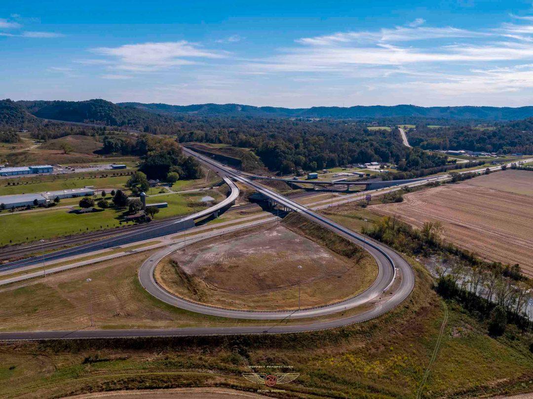 Southern Ohio Veterans Memorial Highway Construction Progress Photography