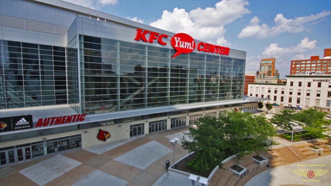 KFC Yum Center Drone Photo