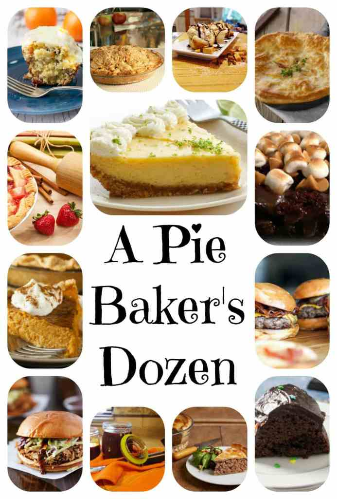 A Pie Baker's Dozen includes our very best and most viewed recipes. Perfect Pie Crust, Apple Pie, Key Lime Pie, Pumpkin Pie, Tourtière, Chicken Pot Pie too!