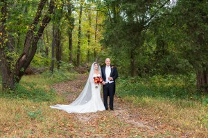 bride and groom fall weddings by perfect planning events