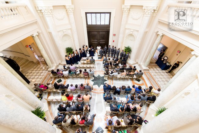 DC Wedding at Carnegie Institute of Science