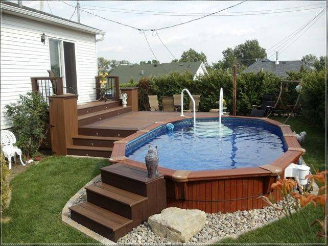 35 Great Deck Designs (EXPERT TIPS AND TECHNIQUES) on Pool Deck Patio Ideas  id=70573