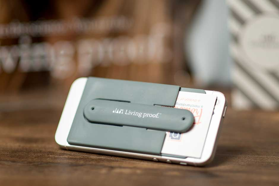 branded iphone business card holder printing