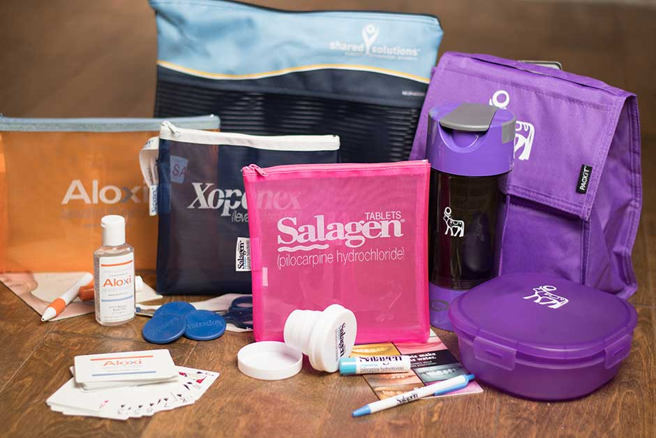 pharma branding printed merchandise design